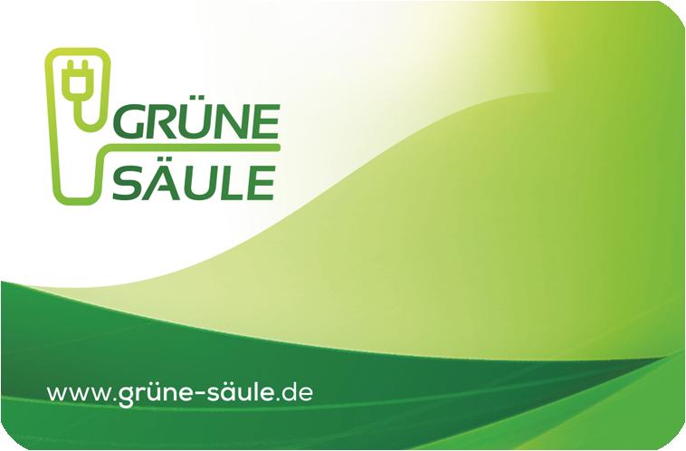 Logo van Grüne Säule laadpas