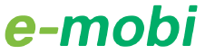 Logo van E-mobi Latvia laadpas