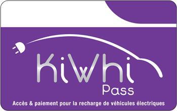 Logo van Kiwhi laadpas