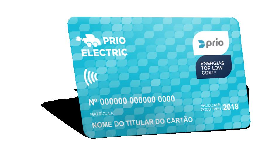 Logo van Prio Electric laadpas