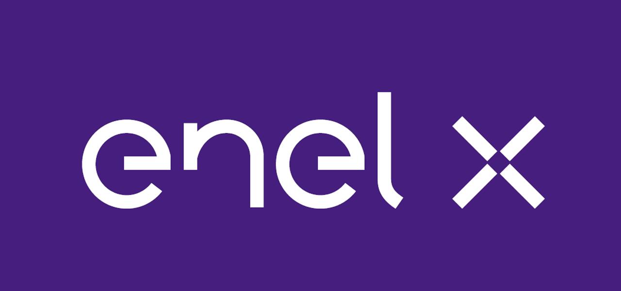 Logo van Enel-X laadpas