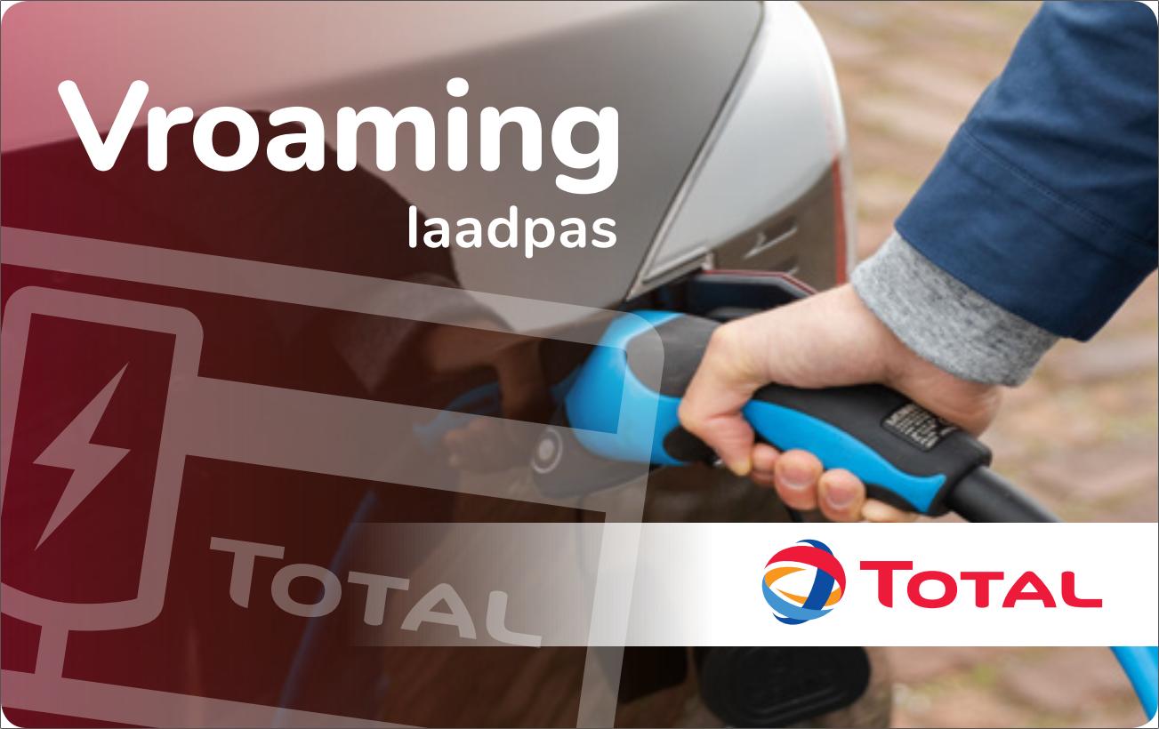 Logo van Total Vroaming Onderweg laadpas