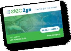 Logo van Elec2go laadpas
