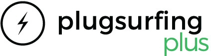 Logo van Plugsurfing Plus NL & BE laadpas