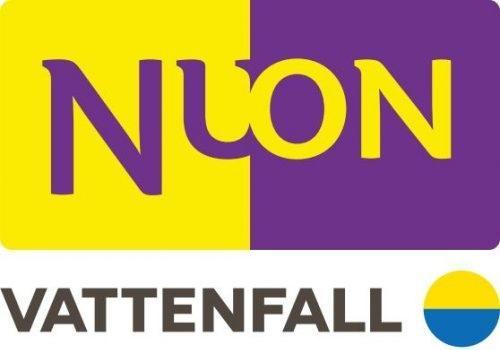 Logo van Nuon Vattenfall laadpas