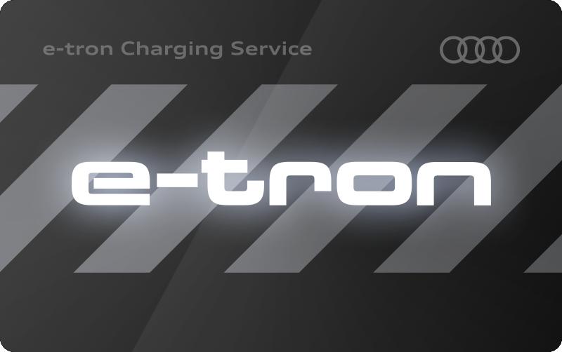 Logo van Audi Charging Service laadpas