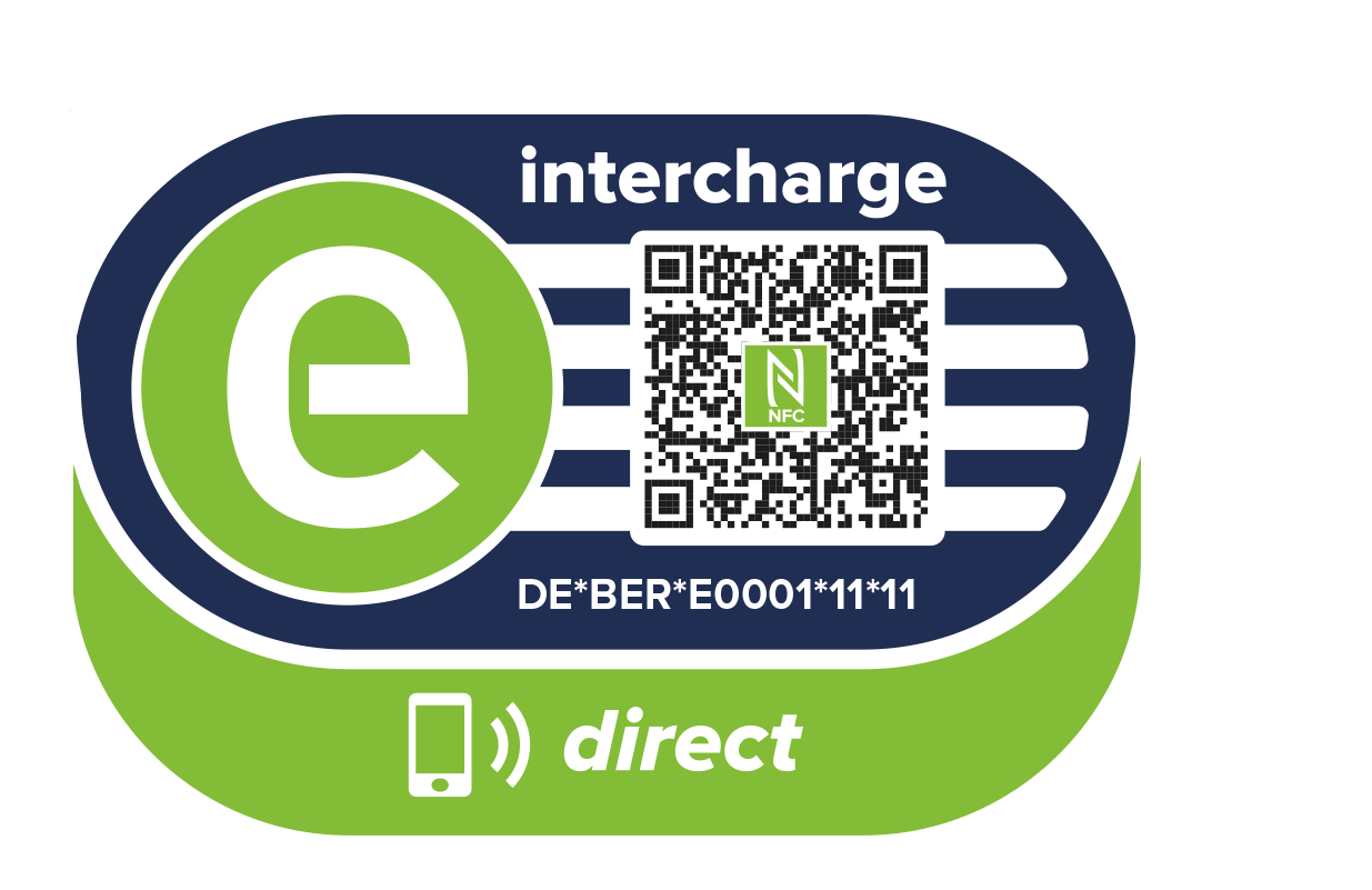 Logo van Intercharge Direct (Hubject) laadpas