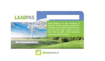 Logo van Oplaadpunten.nl laadpas