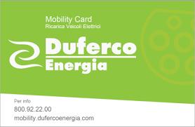 Logo van Duferco Energia (DUE) laadpas