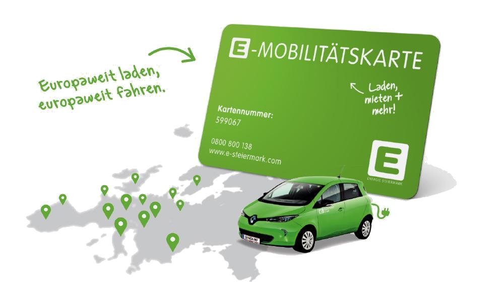 Logo van Steiermark PowerFlat laadpas