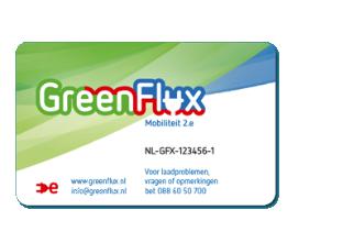 Logo van Greenflux MRA laadpas