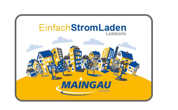 Logo van Maingau   Einfach Strom Laden laadpas