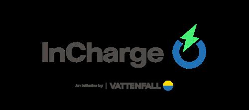 Logo van Incharge (Vattenfall) laadpas