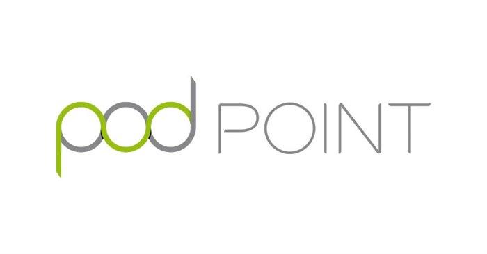 Logo van PodPoint laadpas